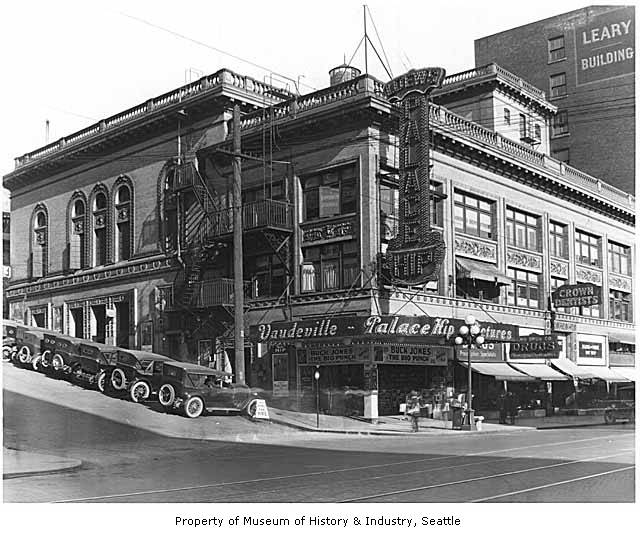 Palace Hip, Seattle, 1921